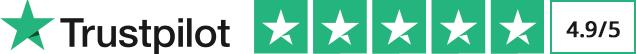 5 Sterne auf Trustpilot
